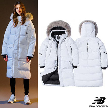 Casual Style Unisex Long Down Jackets