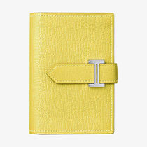 HERMES Bearn Plain Folding Wallets