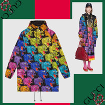 GUCCI Short Casual Style Other Animal Patterns Handmade Jackets