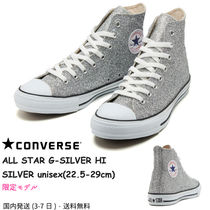 CONVERSE ALL STAR Unisex Street Style Plain Sneakers