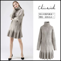 Chicwish Long Sleeves Dresses