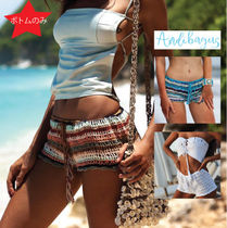ANDI BAGUS Short Casual Style Street Style Cotton Handmade