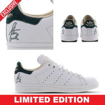 adidas STAN SMITH Casual Style Street Style Bi-color Plain Leather