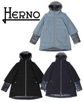HERNO Blended Fabrics Petit Kids Girl Outerwear