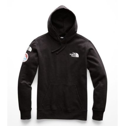 THE NORTH FACE Hoodies Street Style Long Sleeves Plain Logos on the Sleeves Hoodies 3