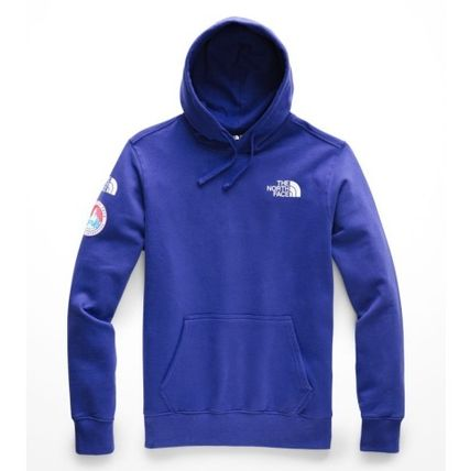 THE NORTH FACE Hoodies Street Style Long Sleeves Plain Logos on the Sleeves Hoodies 4