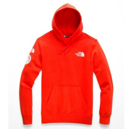 THE NORTH FACE Hoodies Street Style Long Sleeves Plain Logos on the Sleeves Hoodies 5