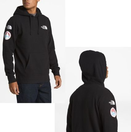 THE NORTH FACE Hoodies Street Style Long Sleeves Plain Logos on the Sleeves Hoodies 6