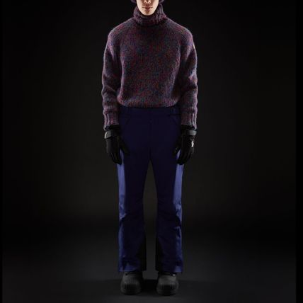 MONCLER Knits & Sweaters Pullovers Wool Street Style Long Sleeves Knits & Sweaters 5