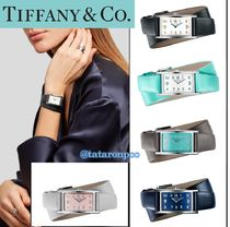 Tiffany & Co Square Office Style Digital Watches