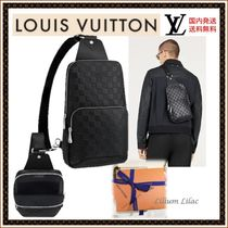 Louis Vuitton DAMIER INFINI Leather Messenger & Shoulder Bags