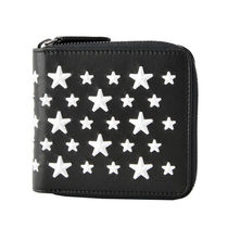 Jimmy Choo Star Studded Folding Wallets