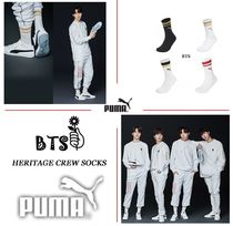 PUMA Stripes Unisex Street Style Collaboration Cotton