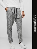 boohoo Glen Patterns Street Style Sarouel Pants