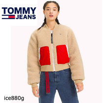 Tommy Hilfiger Short Casual Style Street Style Plain Bomber Jackets