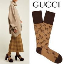 GUCCI Monogram Cotton Socks & Tights