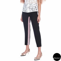 N21 numero ventuno Stripes Bi-color Elegant Style Cropped & Capris Pants