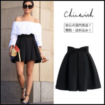 Chicwish Short Pleated Skirts Plain Skirts