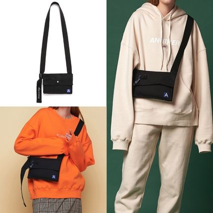Unisex Street Style Collaboration Messenger & Shoulder Bags
