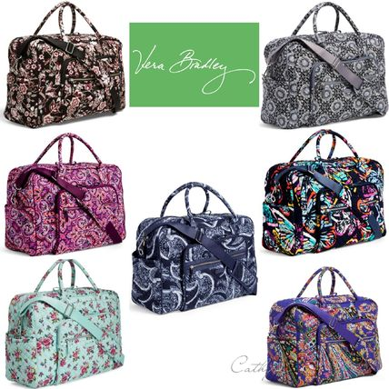 Flower Patterns Paisley Street Style 2WAY Boston & Duffles