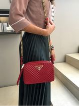 PRADA Casual Style Street Style Shoulder Bags