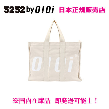 Casual Style Unisex Canvas 2WAY Totes