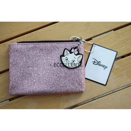 Plain Glitter Pouches & Cosmetic Bags