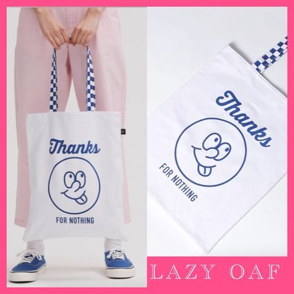 Zigzag Casual Style Totes
