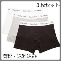 Calvin Klein Street Style Plain Cotton Boxer Briefs