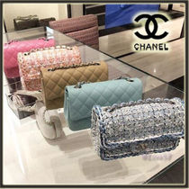 CHANEL ICON 2WAY Chain Elegant Style Shoulder Bags
