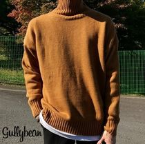Long Sleeves Plain Knits & Sweaters