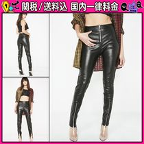 DOLLS KILL Casual Style Faux Fur Plain Long