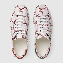 GUCCI Ace Street Style Leather Sneakers