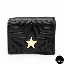 Stella McCartney Star Faux Fur Folding Wallets