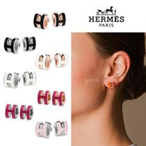 HERMES Casual Style Initial Earrings & Piercings