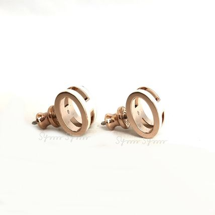 HERMES Earrings & Piercings Casual Style Initial Earrings & Piercings 13