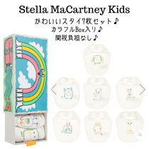 Stella McCartney Organic Cotton Baby Girl Bibs & Burp Cloths