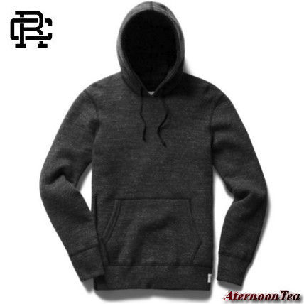 REIGNING CHAMP Hoodies Pullovers Street Style Long Sleeves Plain Cotton Handmade