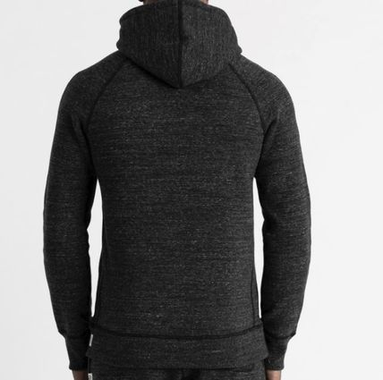 REIGNING CHAMP Hoodies Pullovers Street Style Long Sleeves Plain Cotton Handmade 5