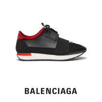 BALENCIAGA Suede Street Style Loafers & Slip-ons
