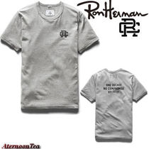 Ron Herman Street Style Plain Cotton Short Sleeves Handmade T-Shirts