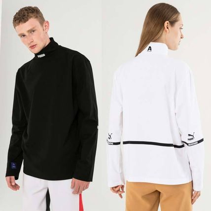 ADERERROR Long Sleeve Pullovers Unisex Street Style Collaboration Long Sleeves