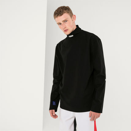 ADERERROR Long Sleeve Pullovers Unisex Street Style Collaboration Long Sleeves 2