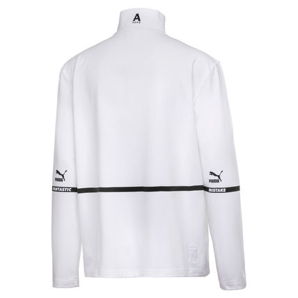 ADERERROR Long Sleeve Pullovers Unisex Street Style Collaboration Long Sleeves 16