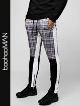 boohoo Other Check Patterns Street Style Skinny Fit Pants