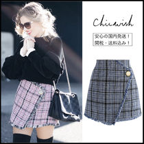 Chicwish Short Tartan Skirts