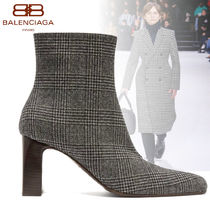 BALENCIAGA Other Check Patterns Boots Boots