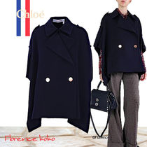 See by Chloe Short Plain Ponchos & Capes
