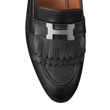 HERMES More Sandals Open Toe Leather Sandals 13