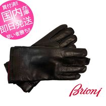 Brioni Leather Leather & Faux Leather Gloves